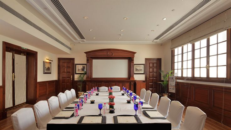 For #corporateevents, Emily Eden and Hodges offer luxury #conference facility in #Imperial, New #Delhi in an impeccable setting, ideal for a conference of 20 to 50 guests. Superlative environment, meeting the requirements of a #conferenceHotel in New Delhi, the venue offers excellent sound system for closed-door meetings, private get-togethers and small dinner events. Also the spacious gardens of The Imperial are ideal for formal dinners and theme parties.