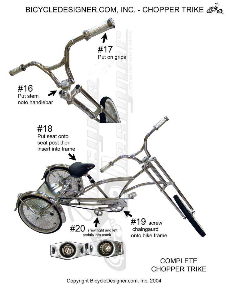 309 best como construir una vicicleta estilo choper images