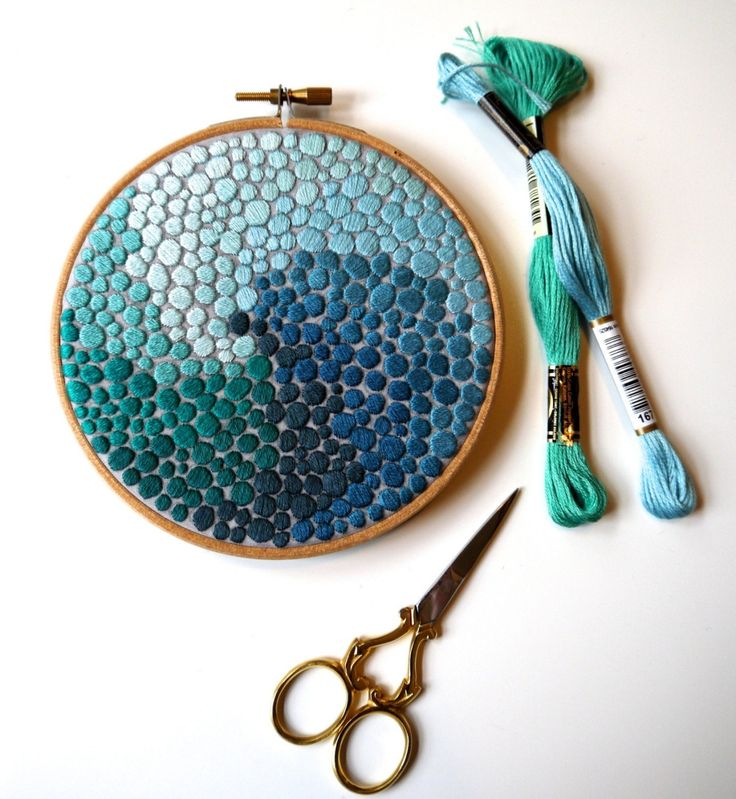 "Displayed In This Embroidery Hoop Is A Fantastic: Sosuperawesome: ""Embroidery Hoops By Corinne Sleight On"
