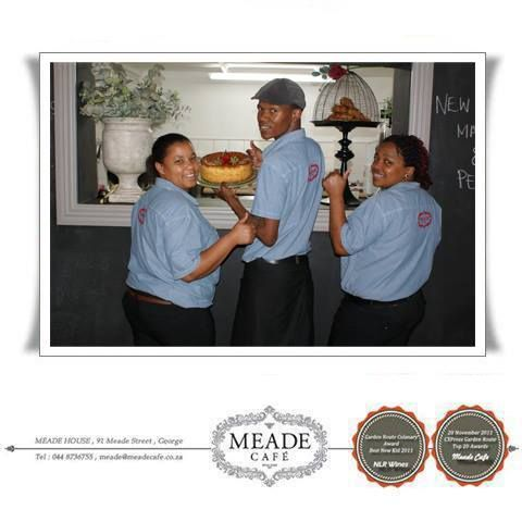 The Meade Cafe team is very proud of their new uniforms and looking forward to being of service to you, our clients #coffee #restaurant