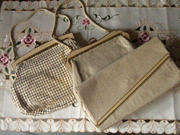 Vtg oroton & Glomesh evening bags
