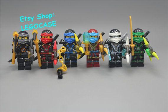 6PCS Custom Lego MinifiguresLego NinjagoNinjago by LEGOCASE