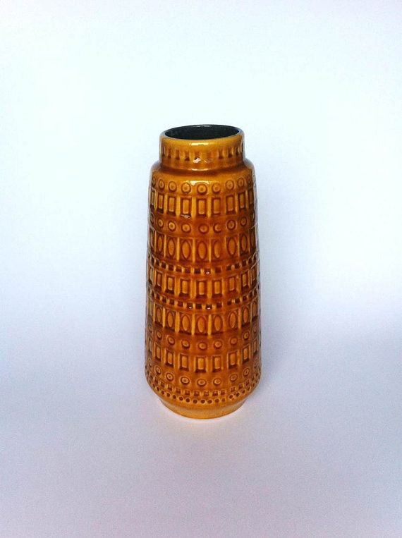 West German Scheurich Vase by ViscountVintage on Etsy, €30.00