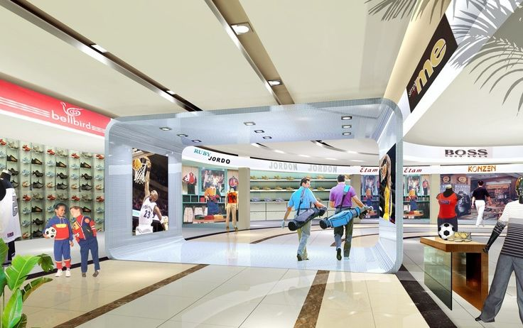 Shopping mall interior design concepts google for Interior design companies in usa