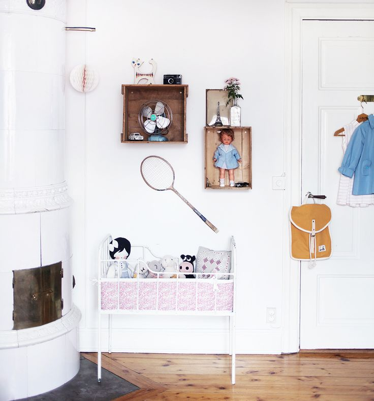 barnrum kids decor vintage room DIY interior inredning