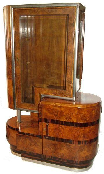 Art Deco Italian cabinet