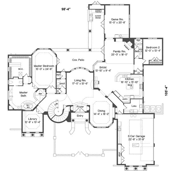 186 best dream homes images on pinterest architecture, dream Civil Home Plan european style house plans 5240 square foot home , 2 story, 5 bedroom and 5 bath, 3 garage stalls by monster house plans plan civil home plan