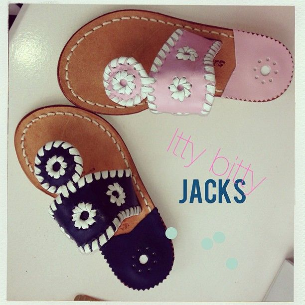 Baby Jacks, the cutest things we've seen in a while! This is why I need a girl someday... for Jack Rogers and CrewCuts