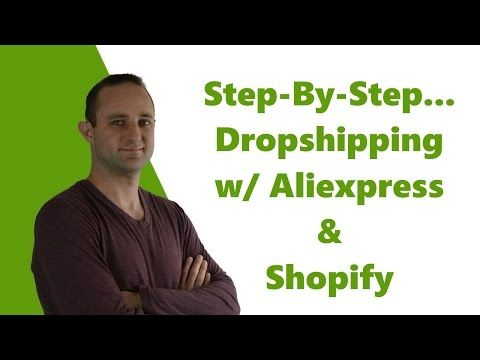 How to Create a Shopify Dropshipping Store Using Oberlo & Aliexpress (In 30 Minutes!) - YouTube