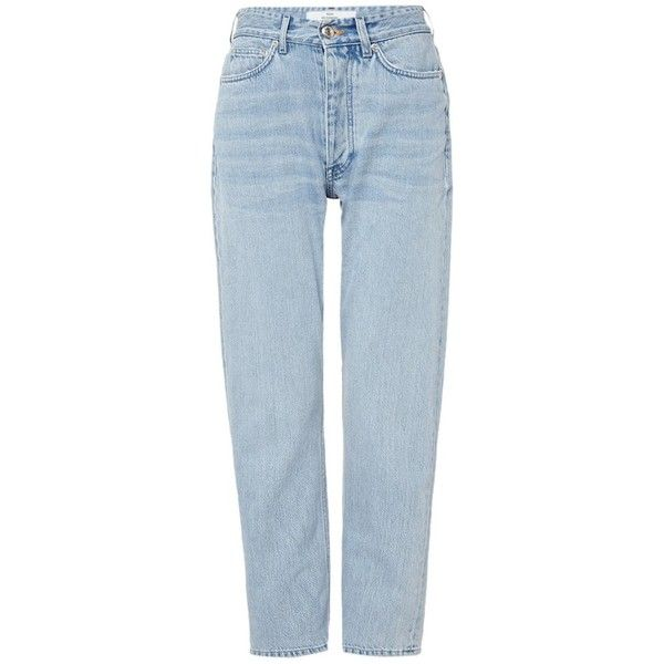 Won Hundred Pearl Chlorine high rise boyfriend jeans ❤ liked on Polyvore featuring jeans, pants, boyfriend fit jeans, high-waisted jeans, high waisted blue jeans, pearl jeans and highwaist jeans