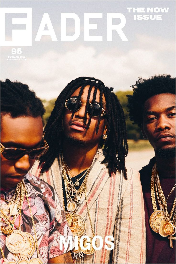 """Migos / The FADER Issue 95 Cover 20"""" x 30"""" Poster - The FADER"""