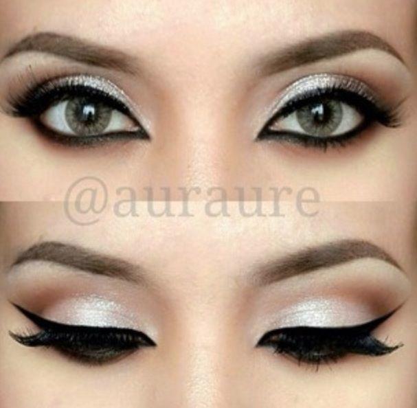 ... Makeup as well Mac Burgundy Lip Pencil. on simple makeup cat eye hair