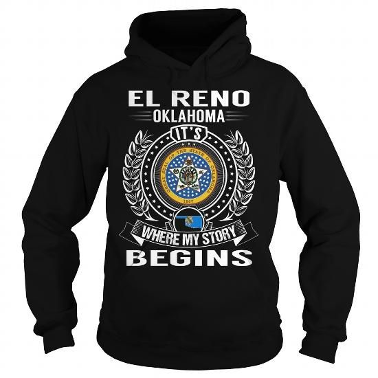 El Reno, Oklahoma Its Where My Story Begins #city #tshirts #El Reno #gift #ideas #Popular #Everything #Videos #Shop #Animals #pets #Architecture #Art #Cars #motorcycles #Celebrities #DIY #crafts #Design #Education #Entertainment #Food #drink #Gardening #Geek #Hair #beauty #Health #fitness #History #Holidays #events #Home decor #Humor #Illustrations #posters #Kids #parenting #Men #Outdoors #Photography #Products #Quotes #Science #nature #Sports #Tattoos #Technology #Travel #Weddings #Women