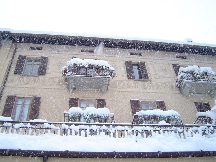 Winter balconies