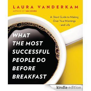 What the Most Successful People Do Before Breakfast. This Kindle single is jam-packed with practical, actionable info on changing your mornings--and your life. Well worth the $3.