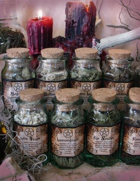 The Pagan Circle BUILDING YOUR HERBAL CABINET