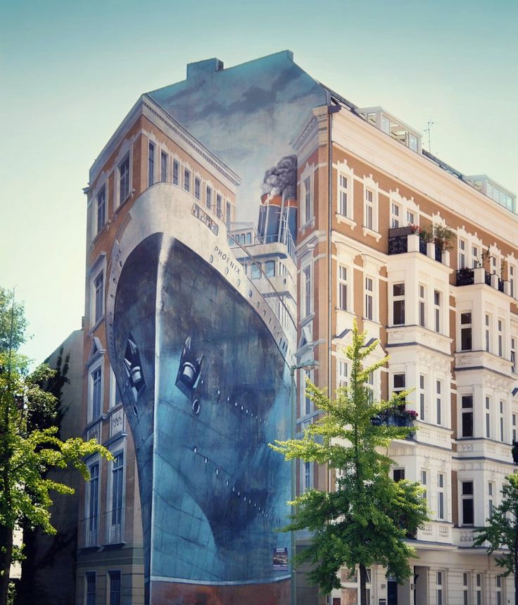 14 originales graffitis que crean ilusiones ópticas impresionantes y colosales