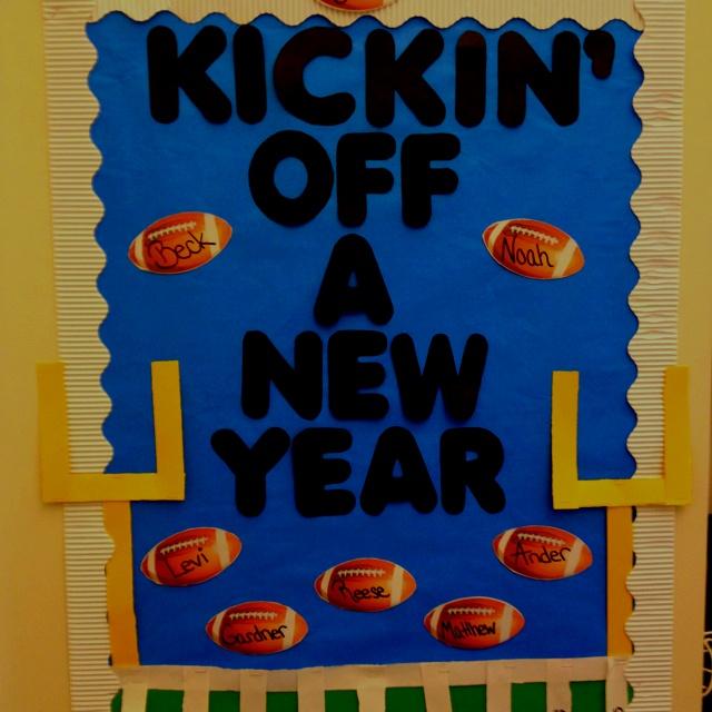 Football bulletin board
