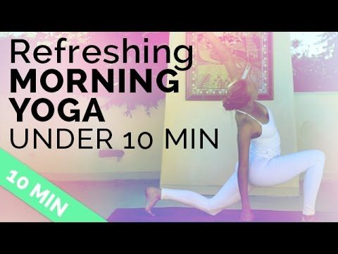 9:03 Easy Morning Yoga Sequence to Start Your Day Right (under 10 minutes!) BrettLarkinYoga