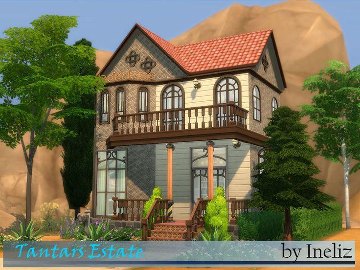 Les 13 meilleures images du tableau maison sims 4 sur pinterest maisons maison sims et les for Maison prefabriquee sims 4