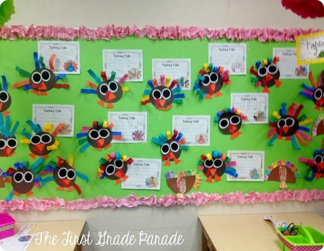 Cute Turkeys- The First Grade Parade