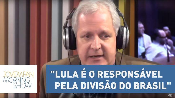 """Augusto: """"Lula é o responsável pela divisão do Brasil entre 'nós e eles'..."""