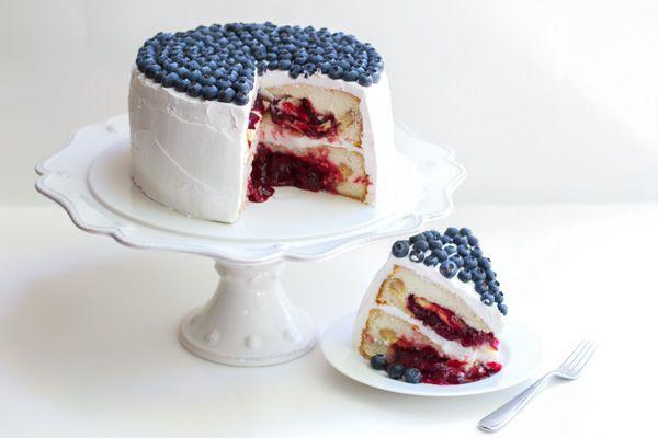 How to make Cherry Pie Cake via Lilyshop Blog by Jessie Jane