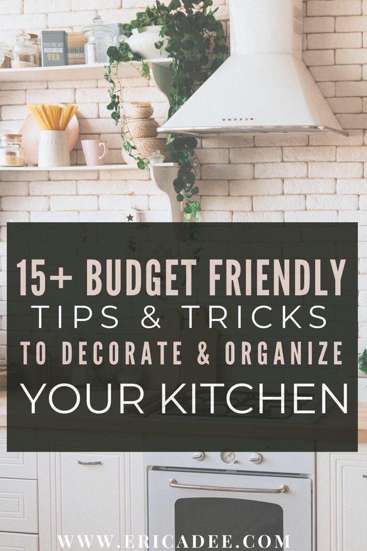 10+ Kitchen Organization Ideas and Hacks in 10  Kitchen decor