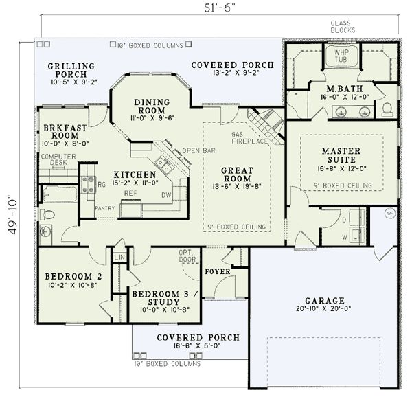best 20 ranch house plans ideas on pinterest - Traditional House Plans
