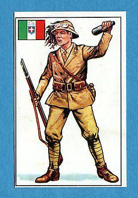 ARMI E SOLDATI - Edis 71 - Figurina-Sticker n. 395 - BERSAGLIERE ITALIANO -Rec