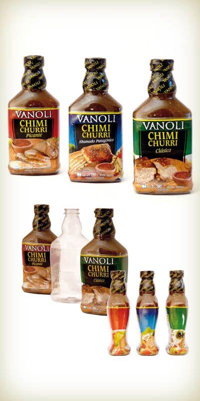 Envase de Chimichurri de Vanoli y Cía. S.A. distinguido con el Sello de Buen Diseño argentino 2011.