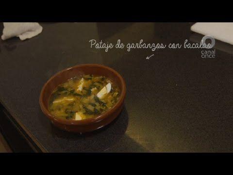 Tu cocina (Pablo San Román) - Potaje de garbanzos con bacalao (28/04/2017)