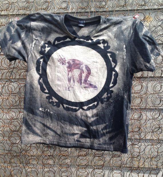 Anatomy Human body print t-shirt unisex short by SewObsession