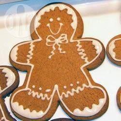 Christmas Gingerbread Men @ allrecipes.co.uk