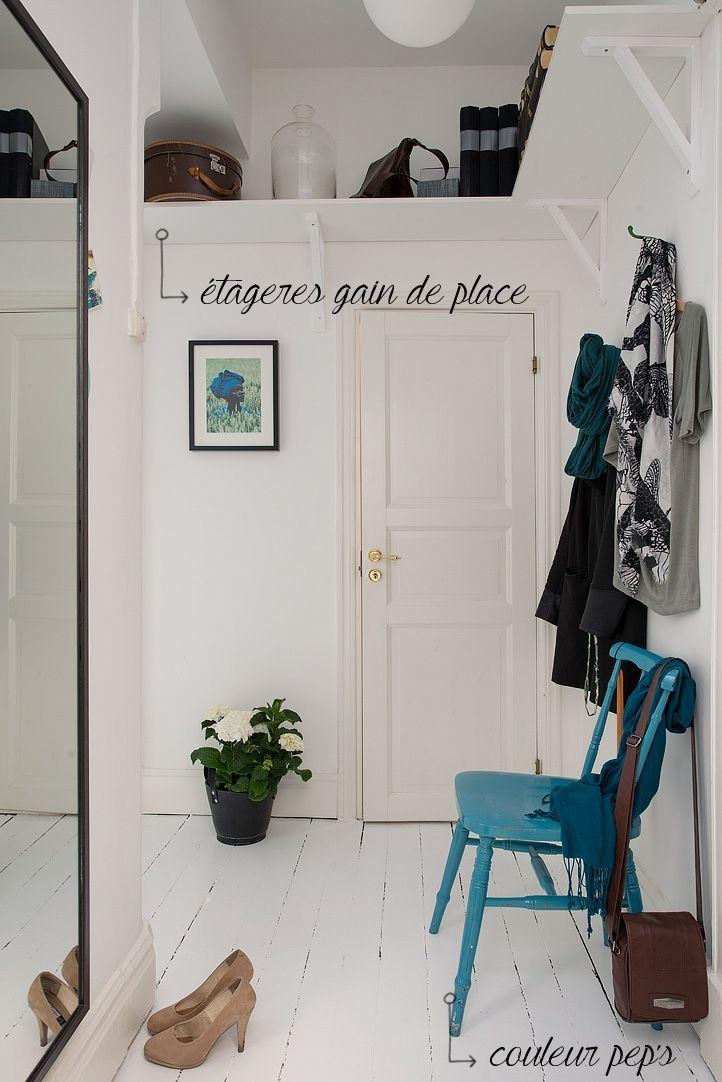 Les 11 meilleures images propos de hall d 39 entr e sur pinterest croche - Etagere porte assiettes gain de place ...