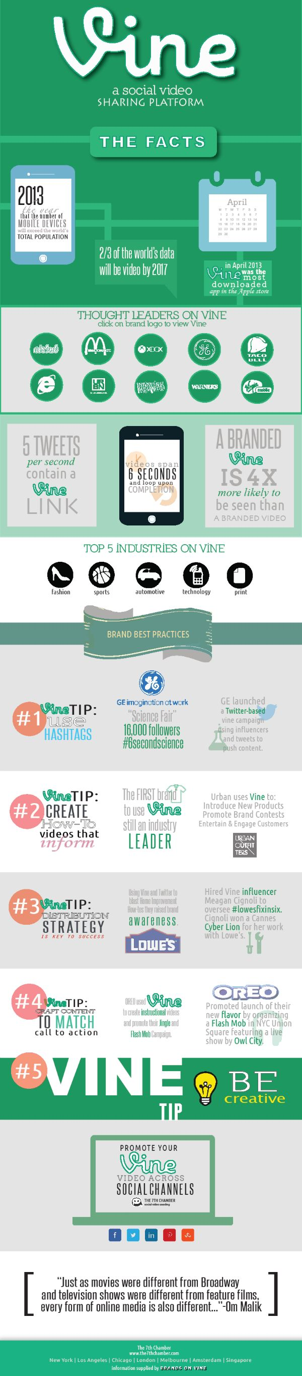 5 Tips to Create Successful Vine Videos [Infographic]