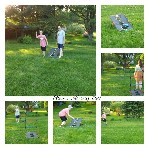 Outdoor #Family Fun Activities #cbias #games: 3 in 1 tailgate games, Ladderball, Washer and Bean Bag Toss http://www.ottawamommyclub.ca/outdoor-family-fun-activities-cbias/