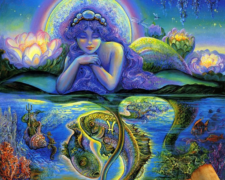 blue moon art - Google Search
