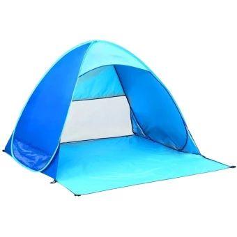 บอกต่อ  Leegoal แอนตี้ยูวี Automicแวะพักเต็นท์สำหรับการแคมป์กิจกรรมกลางแจ้งริมชายหาด  ราคาเพียง  748 บาท  เท่านั้น คุณสมบัติ มีดังนี้ Heavy duty 190T Polyester fabric and UPF 50+ material. Easy setup and packing :Pop up beach shelter and come with amesh bag to pack it. Durable 190T nylon and Anti UV material Easy to carry in the case provided compared to the 2 bulky lawnchairs. Size: 59 x 64.9 x 39.37 Inch(L x W x H). Folding size: 17.7 x1.18 Inch