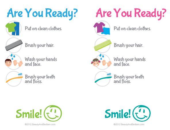 printable kids u0026 39  bathroom checklist