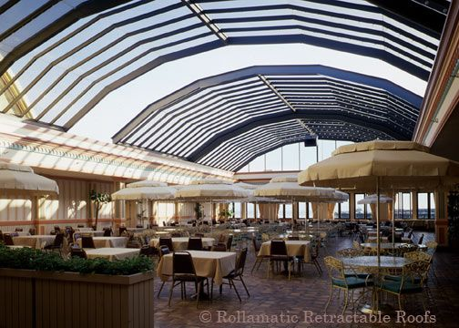 opulent design retractable roof. Here s an example of a large Rollamatic retractable roof  In tech terms this is 15 best Retractable Roofs the Ultimate Luxury images on