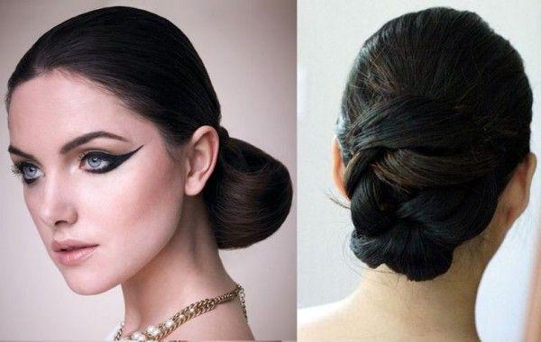 Low Bun Hairstyles for Weddings,Low Loose Bun Hairstyles,Low Messy Bun Hairstyle, How to Make Low Bun, Low Bun Tutorial,Low Bun Hairdo, Low ...