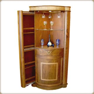 44 best decoraci n casa images on pinterest mini bars for Bar de madera esquinero para casa