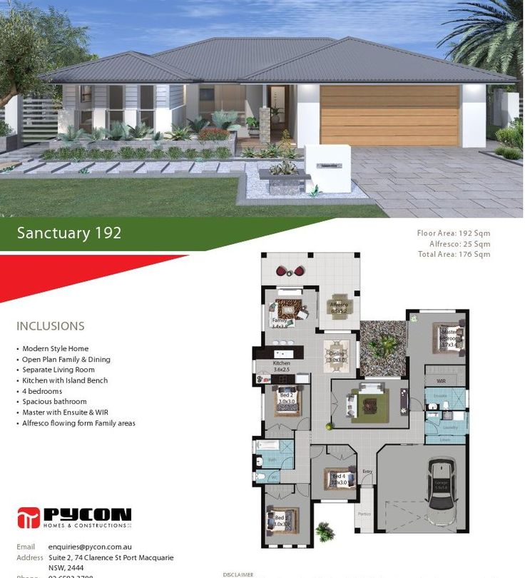 93 best house plans images on pinterest house blueprints house pycon homes sanctuary 192 malvernweather Image collections