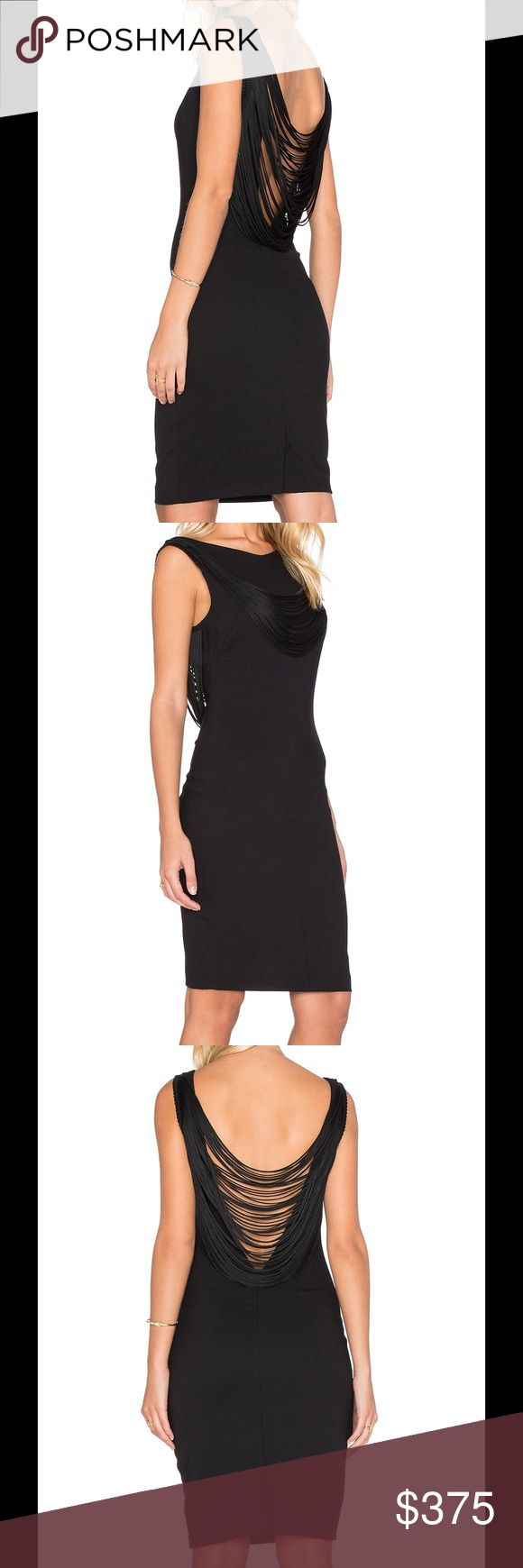 ba&sh Clapton Dress Ba&sh creates a line with a delicate mix of simple, chic designs that are modern and feminine. This make a statement little black dress features: Self: 53% poly , 43% virgin wool , 4% elastane Lining: 95% poly , 5% elastane Dry clean only Fully lined Fringe accent Hidden back zipper closure Color: Black BA&SH Dresses Mini