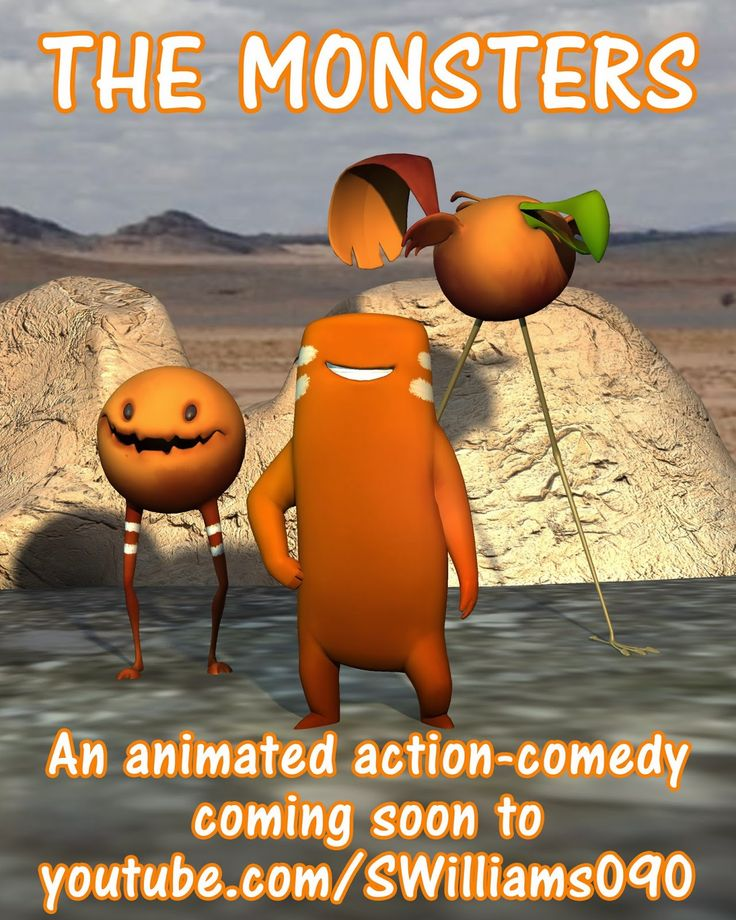 A poster for my upcoming CG animated short film- The Monsters ...