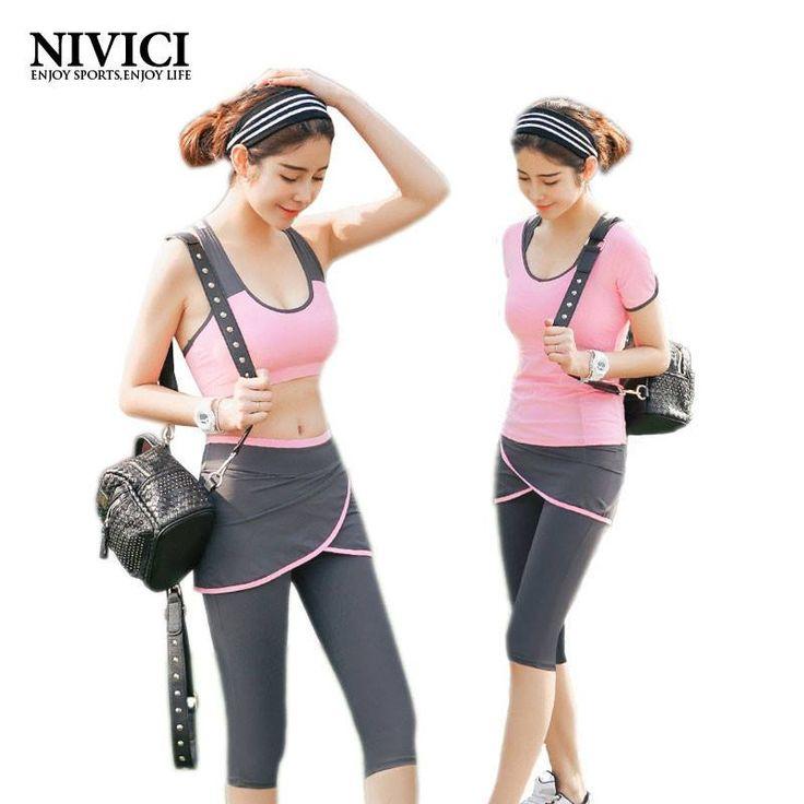 Simple Workout Sport Costumes Capris