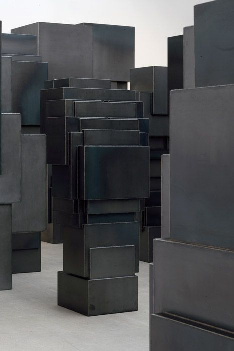 Second Body by Antony Gormley at Thaddaeus Ropac Galerie _