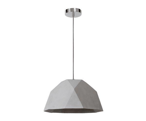 Lámpara de techo en hormigón Lucide - Ø38 cm