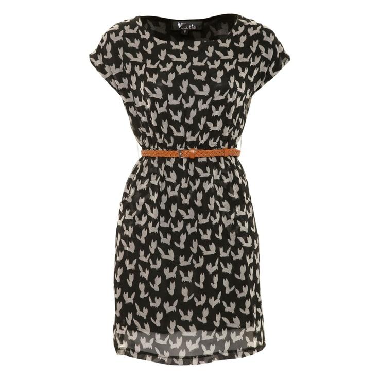 fox print dress #awear: Bunnies Prints, Animals, Foxes Prints, Prints Dresses, Bunny Prints, Dresses Awear, Cute Dresses, Dresses Www Awear Com, Animal Prints